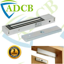 600 LB avec Tension de fonctionnement de 12 ou 24 VDC ICS unique porte Magnétique Verrou environ 272.16 kg
