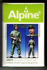 ALPINE MINIATURES 35019 - US TANKER w/TOMMY GUN - 1/35 RESIN KIT