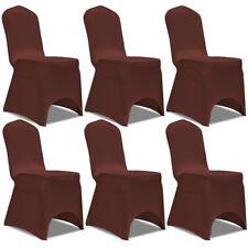 4/ 6x Stuhlhussen Stretch Universell Stuhlüberzug Bezug Hochzeit mehrere Auswahl