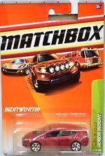 MATCHBOX 2010 METRO RIDES HONDA INSIGHT #25/100 RED W+