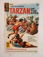 TARZAN OF THE APES #181 (F/VF) 1968 SILVER AGE GOLD KEY COMICS! PAINTED COVER