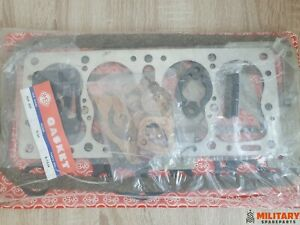 ENGINE GASKET SET OVERHAUL WILLYS MILITARY JEEP M38 NEW