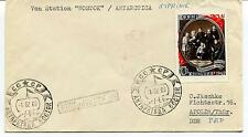 URSS CCCP Exploration Ship Polar Antarctica Cover Von Station Wostok