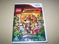 Lego Indiana Jones: The Original Adventures Wii **New & Sealed**