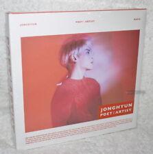 SHINee Jong Hyun Poet Artist 2018 Korean CD (JongHyun)