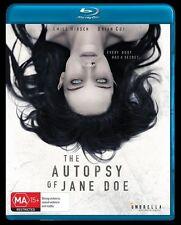 The Autopsy Of Jane Doe (Blu-ray, 2017) Emile Hirsch - Sealed - Region B DVD