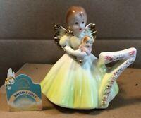 Applause Josef Originals Angel Figurine Birthday Girl 7 Seven Year Doll