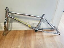 "OLD SCHOOL BMX 1984 CHROME GHP PHASE 1 20"" FRAME FORK HEADSET OG RARE VINTAGE"