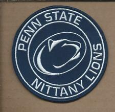 NEW 3 1/2 INCH PENN STATE NITTANY LIONS IRON ON PATCH FREE SHIPPING P1
