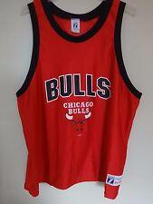 Vintage 1980's Classic Logo 7 NBA Chicago Bulls Basketball Jersey Men 2XL