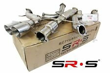 """SRS TYPE-R1 CATBACK EXHAUST SYSTEM FOR 2013 FORD FOCUS ST 2.0L TURBO 3"""""""