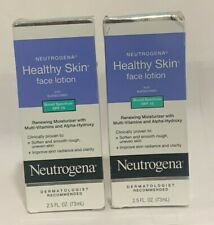 Neutrogena Healthy Skin Face Lotion with Sunscreen SPF 15 2.5 oz PACK OF (2)