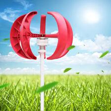 12V 600W Lantern Wind Turbine Windgenerator Windkraftanlagen Effective 5 blades