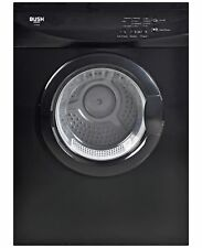 Bush V7SDB Free Standing 7kg Vented Tumble Dryer - Black.
