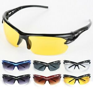 Men Women Sports Eyewear Cycling Sunglasses Anti-UV Protect Outdoor Sport