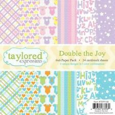 TAYLORED EXPRESSIONS  6X6 PAPER PACK - DOUBLE THE JOY  TEPP108