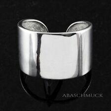 Silberring Silber 925 Ring  Verstellbar Offen Vintage