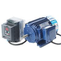 Variable Speed AC Motor Low rpm Motor 500-1400rpm AC220V 3.0KW+ VFD Inverter