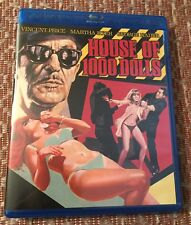 HOUSE OF 1000 DOLLS (1967) Kino Lobber Blu-ray - Vincent Price AIP Euro Schlock
