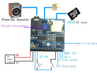 5V DC Voice Playback Module MP3 Music Player Development Board for Arduino