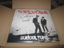 """THE SELECTER - SIGNED VINYL LP (PAULINE BLACK/GAPS) - """"SUBCULTURE"""" UNPLAYED W/DL"""