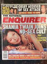 National Enquirer March 14, 2000 Shania Twain. Cosby Accused of Sex Attack