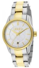 Damenuhr LIU JO Luxury TESS TLJ950 Stahl Armbanduhr Zweifarbig Gold Weisse