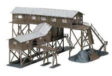 embalaje original dos reiterada Lokschuppen nuevo Faller h0 191738
