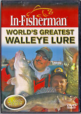 In-Fisherman: World's Greatest Walleye Lure (New DVD, 2006) Al and Ron Lindner