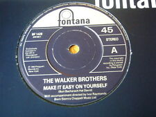 """THE WALKER BROTHERS - MAKE IT EASY ON YOURSELF  7"""" VINYL"""