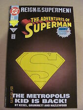 Adventures of Superman #501 DC Comics Deluxe Cover 9.4 Near Mint