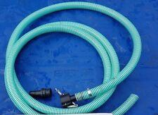 "PRESSURE WASHER 5 METER MUD SUCKER EXTENSION HOSE DIRT WATER PIPE BANJO 1 1/2"""
