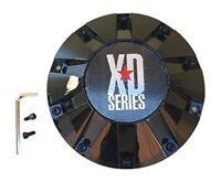 XD SERIES KMC 806 Bomb 451L215-B001 MB452S 451L215 LG1108-11 Black Center Cap