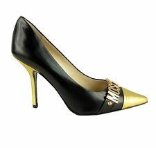 MOSCHINO COUTURE! Damen,Women,Donna,Stöckelschuhe,High Heels,Pumps,Schwarz,Luxus