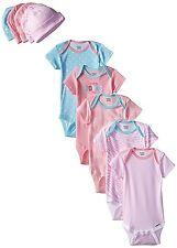 Gerber Baby-Girls 10-Piece Newborn Love Onesies and Cap Bundle Gift Set