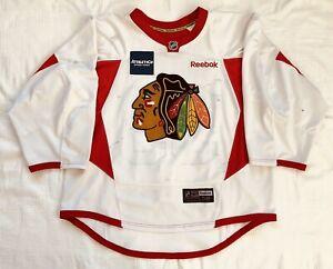 2012-13 Chicago Blackhawks Carter Hutton Practice Worn Jersey Size Goalie Cut 58