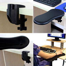 Home Office Computer Arm Support Desk Table Attachable Mouse Pad Arm Wrist Rest