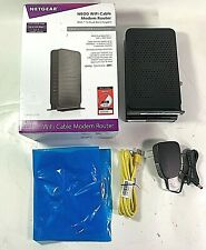 NETGEAR C3700 N600 Dual Band Wi-Fi Cable Modem Router Up to 600 Mbps