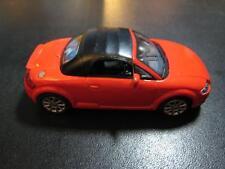 Audi TT Hongwell Red 1:43 Front Windows Damaged