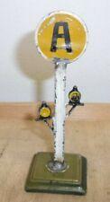 Selten: Märklin Spur Vorsignal Abbremssignal ohne Funktion circa 12 / 13 cm hoch