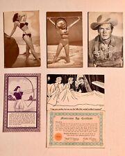 Vintage Exhibit Arcade Cards