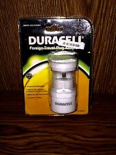 Duracell Foreign Travel Plug Adapter