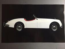 1957 Jaguar XK-140 Roadster Picture, Print, Poster RARE!! Awesome L@@K