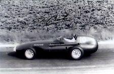 Tony Brooks Vanwall French Grand Prix 1958 Signed Photograph