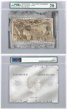 2018 Historical Maps Cosmographia Foil Note 30 g Silver Pmg Gem Unc 70 Sku51837