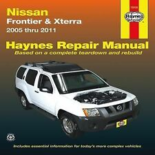 2005-2011 Haynes Nissan Frontier & Xterra Repair Manual