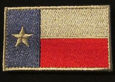 TEXAS STATE LONE STAR FLAG FULL COLOR ISAF VELCRO® BRAND MORALE BADGE PATCH