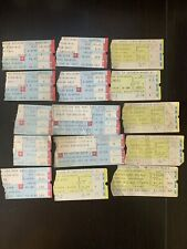 Lot Of 15 Ticket Stubs 70-80Th Bruce Springsteen/Bee Gees/Rolling Stones/ Bowie