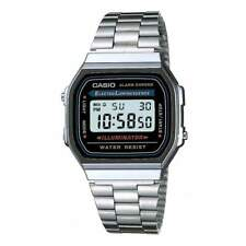 Casio Classic Watch A168wa-1yes Alarm Chronograph Illuminator Unisex