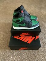 Nike Air Jordan 1 High Retro OG Pine Green 2.0 GS 6.5 2020 Release